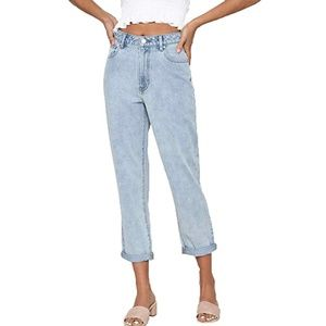 PacSun High Rise Mom Jeans Sophie Blue NEW